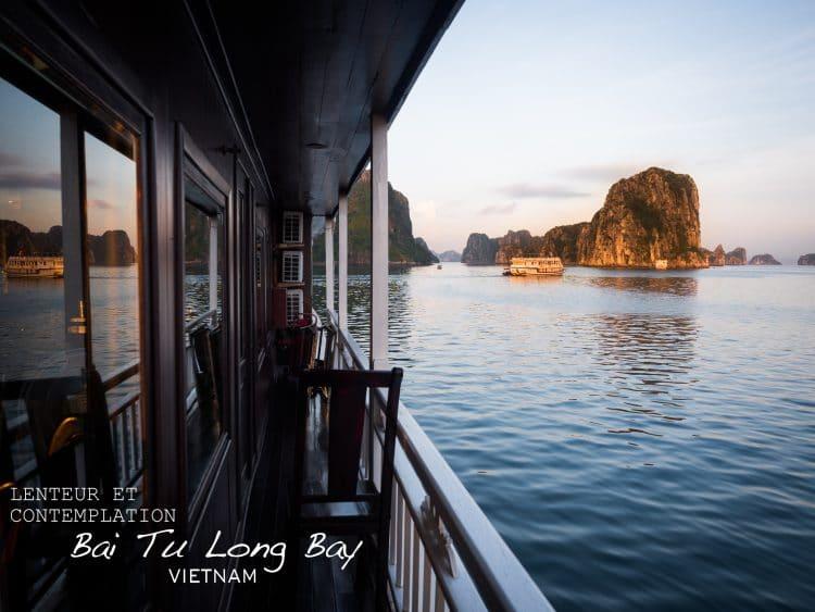 la baie d halong - voyage au vietnam - vietnam photos - baie d halong vietnam