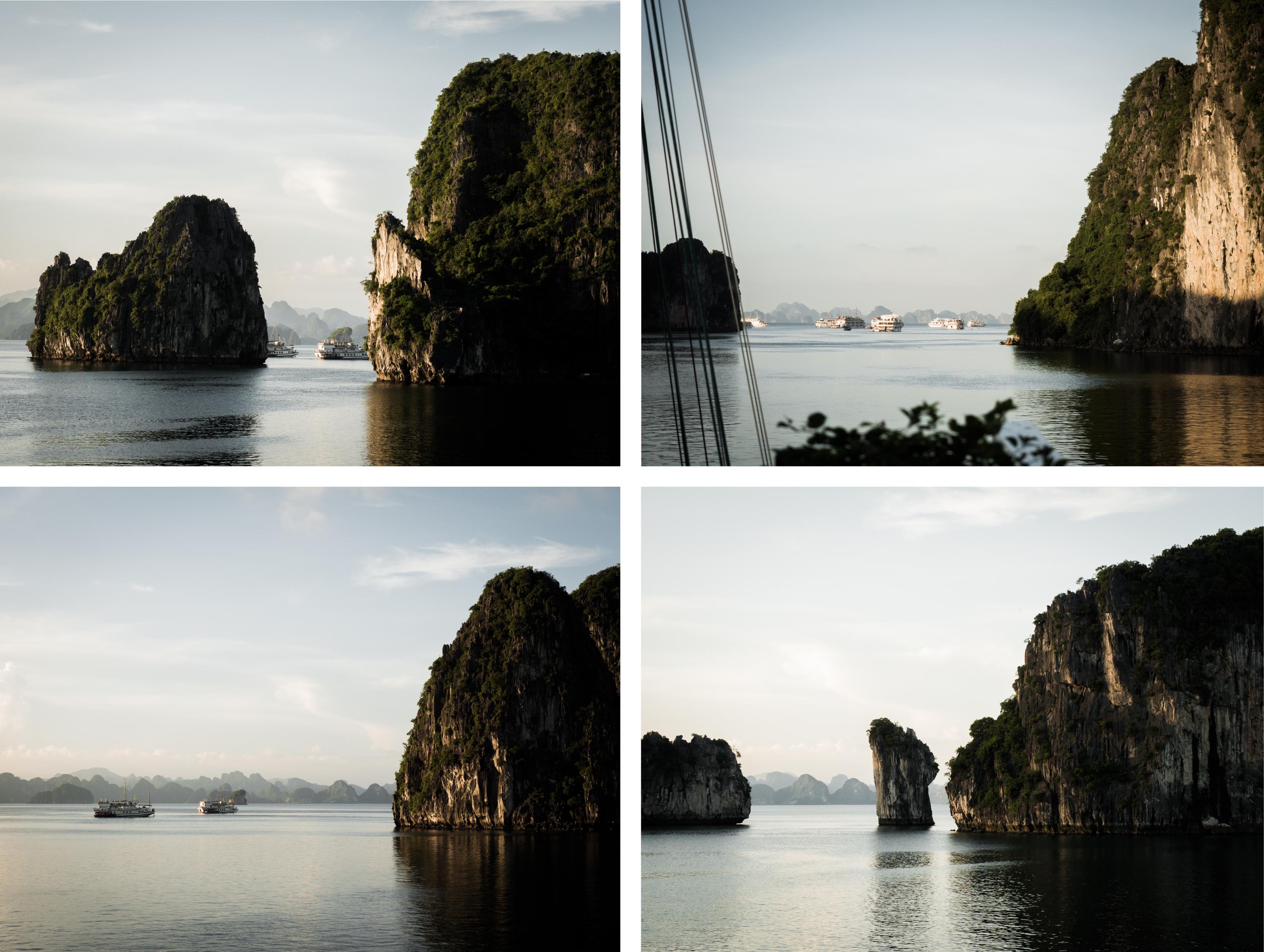 vietnam - bai tu long bay - baie d'halong - reliefs karstiques de la baie d'halong