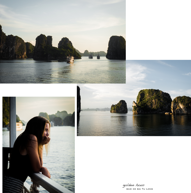 vietnam- baie d'halong - croisière en jonque