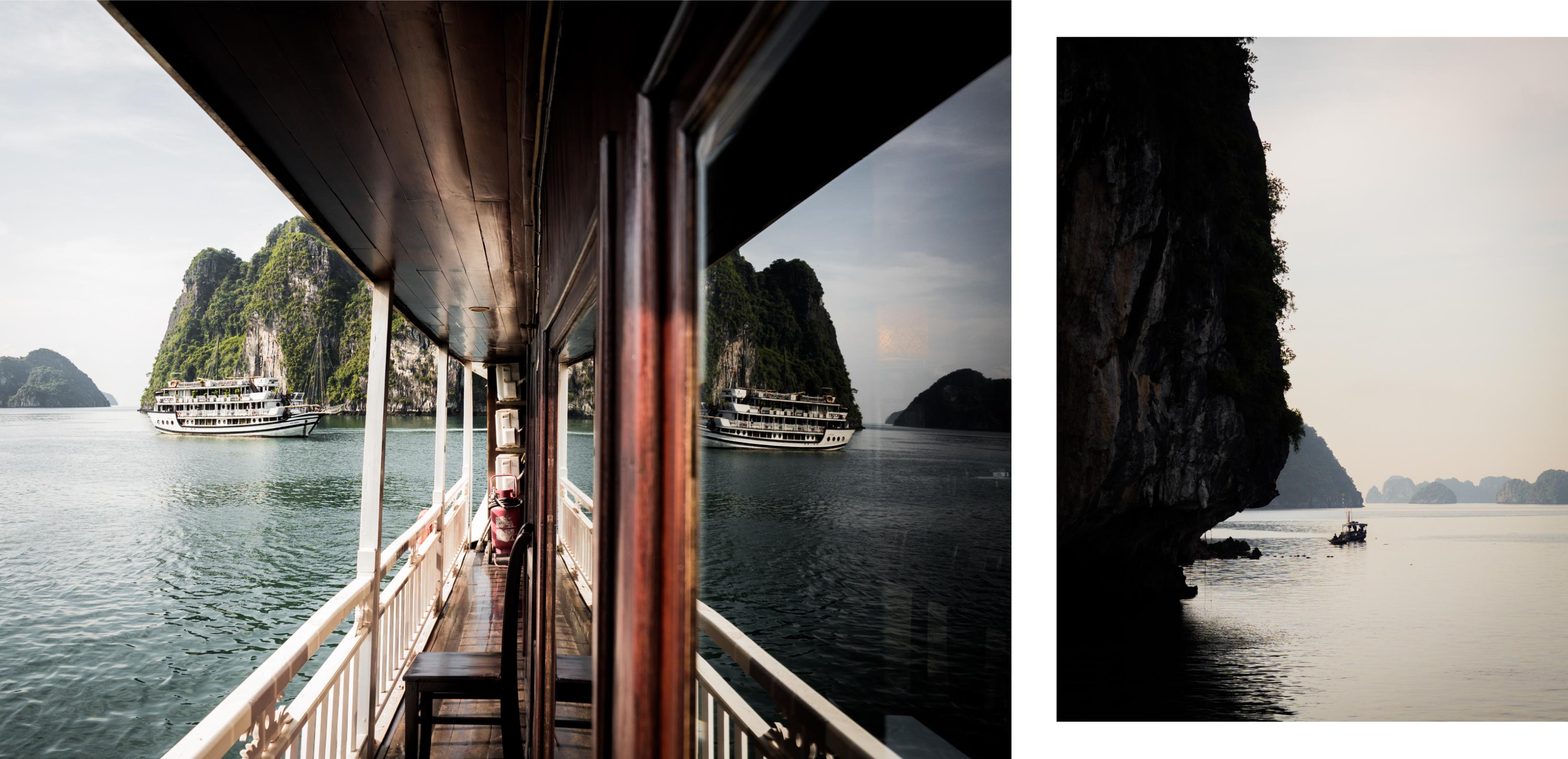visiter la baie d'halong - vietnam - voyager en jonque dans la baie d'halong