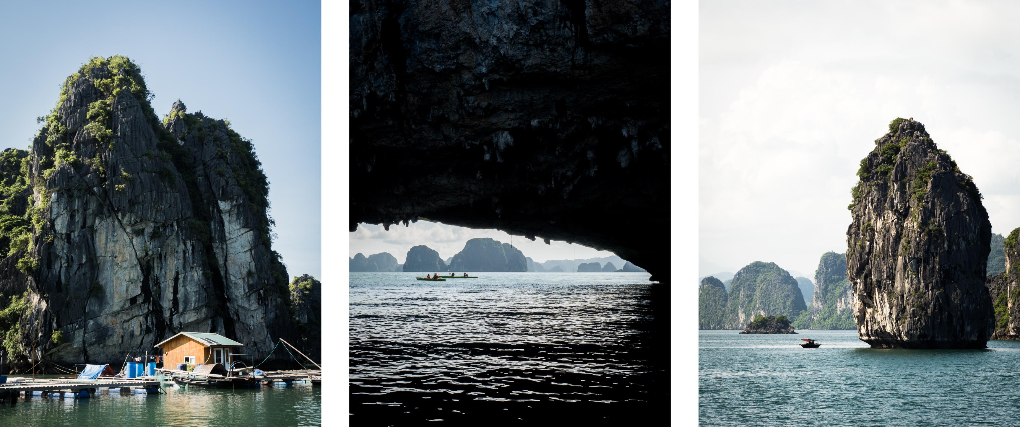 vietnam - bai tu long bay - baie d'halong