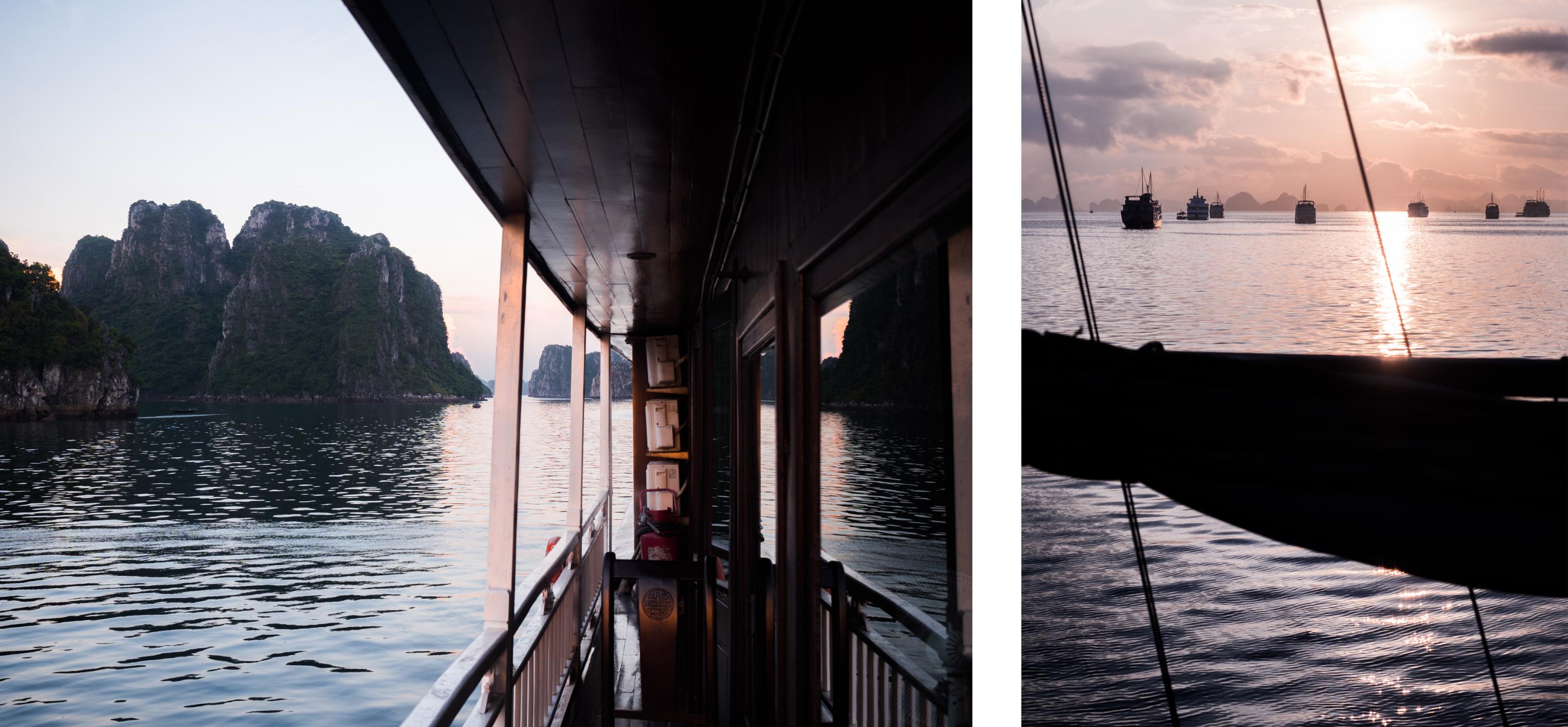 découvrir la baie d'halong - voyager en jonque - slow travel