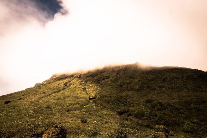 la soufrière guadeloupe-randonnée la soufrière-photo de la soufrière en guadeloupe