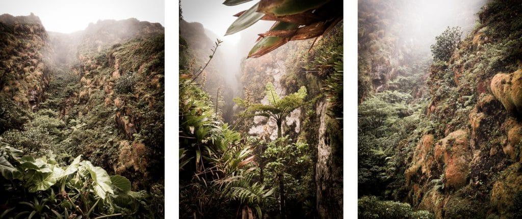volcan la soufrière randonnée- volcan antilles - volcan ile de montserrat