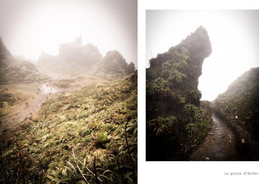 randonnée la soufrière- Volcan Guadeloupe