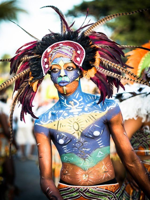 le carnaval de guadeloupe - masque de carnaval guadeloupe-déguisement carnaval guadeloupe - maquillage carnaval guadeloupe
