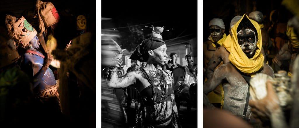 le carnaval de guadeloupe - déguisement carnaval guadeloupe - maquillage carnaval guadeloupe - masque carnaval guadeloupe-groupes à peaux, mass a po