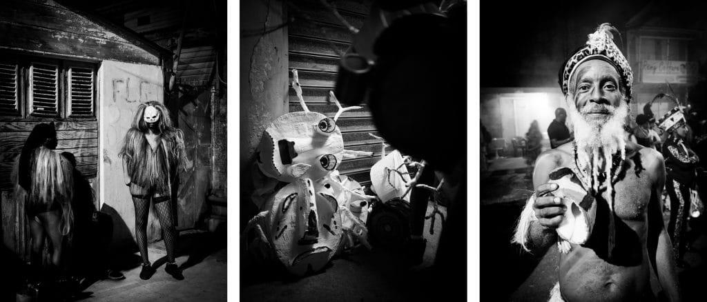 photo noir et blanc de carnaval en guadeloupe-le carnaval de guadeloupe - déguisement carnaval guadeloupe- maquillage carnaval guadeloupe - masque carnaval guadeloupe
