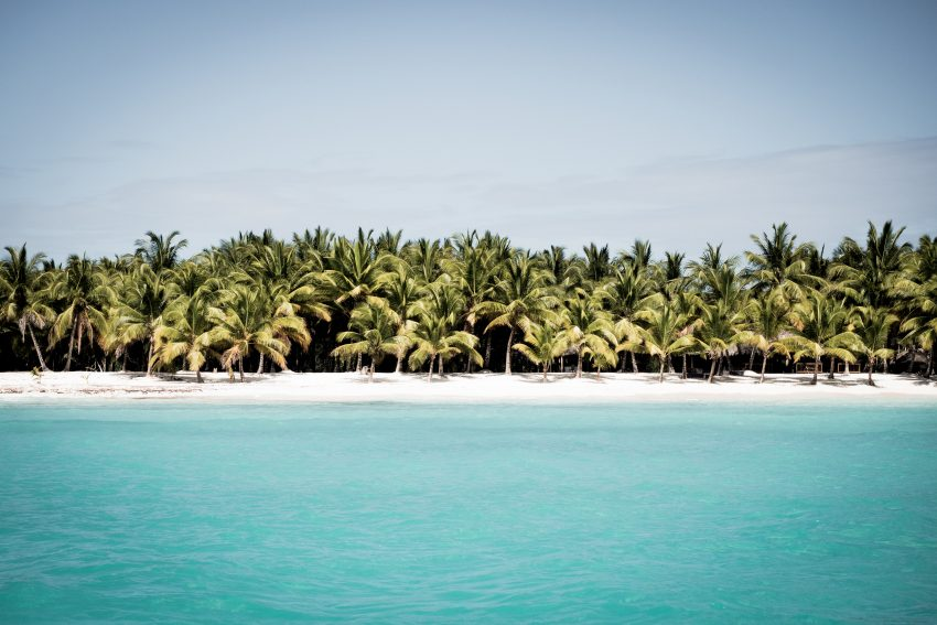plage caraibes -photo de la mer des caraibes-plage saona republique dominicaine - plage paradisiaque