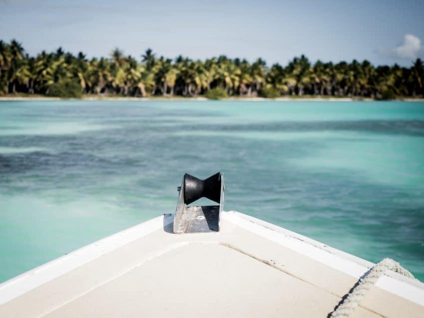 saona republique dominicaine-photo de la mer des caraibes