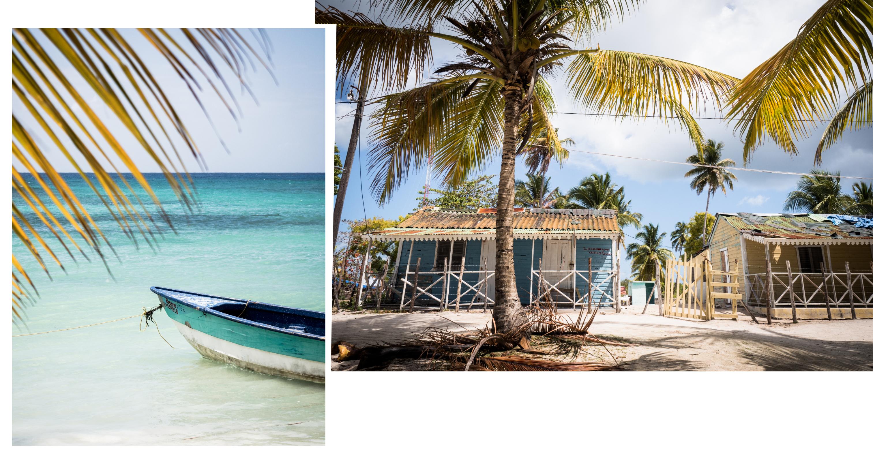 voyage caraibes-saona republique dominicaine - excursion en bateau à saona- caraïbes