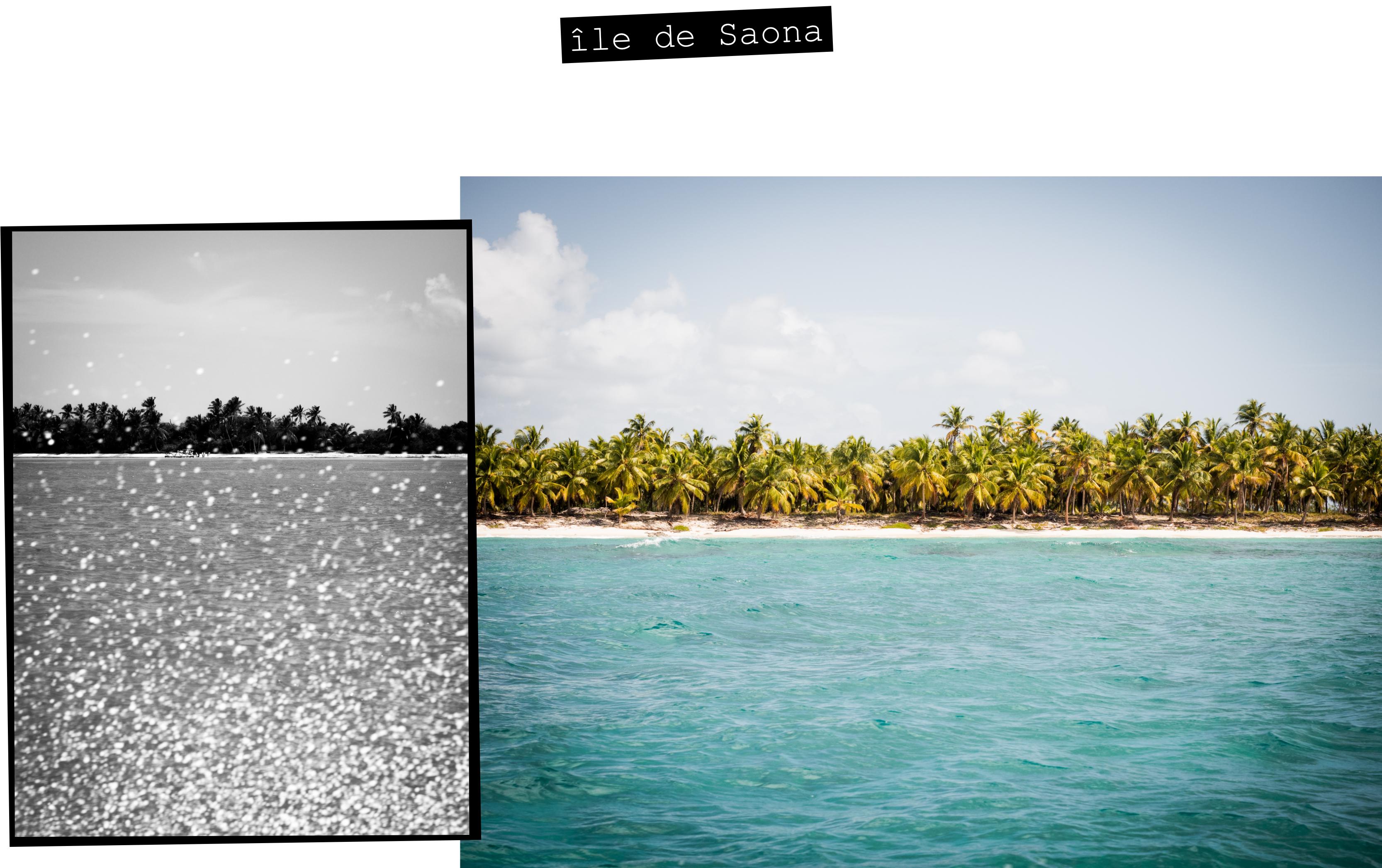 plage caraibes -photo de la mer des caraibes-plage saona republique dominicaine