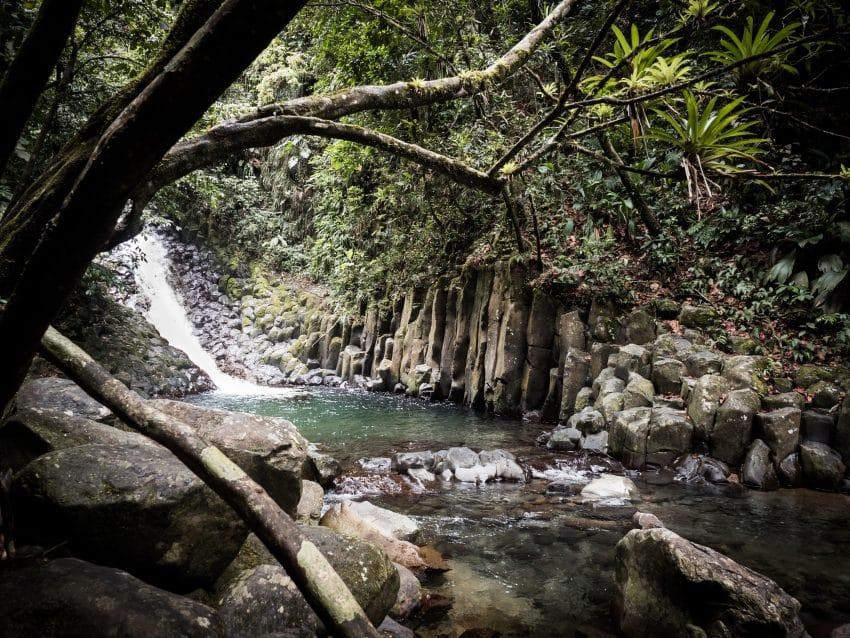 Randonnée Guadeloupe cascade - Visite foret tropicale cascade du Paradis