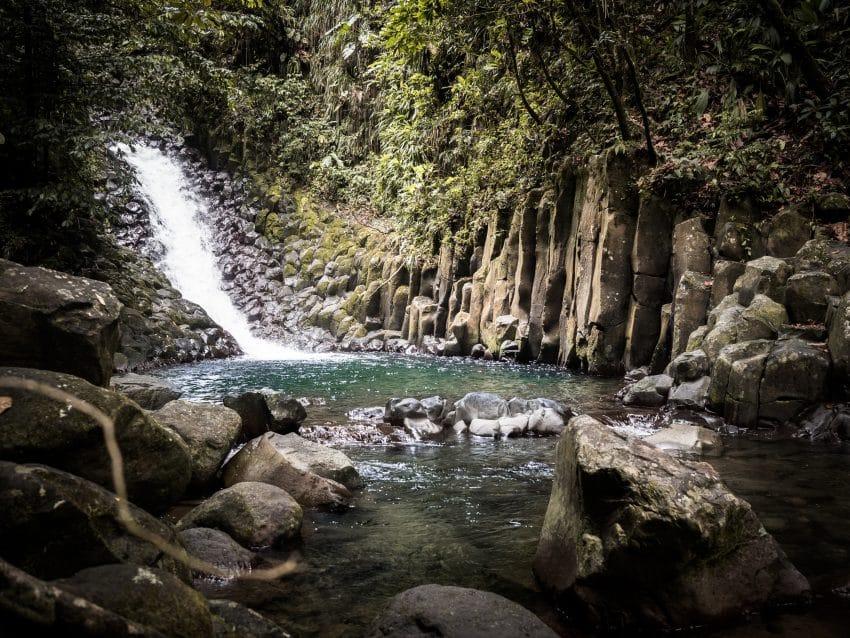 photo guadeloupe - cascade paradis guadeloupe