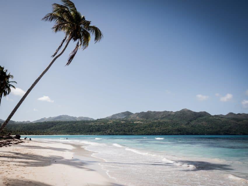 Photo plage caraibes republique dominicaine dans la péninsule de Samana - las terrenas, caraïbes, las galeras, playa rincon