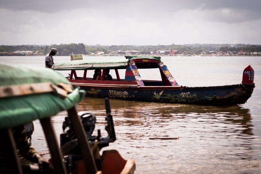 blog voyage guyane - Pirogues en Amazonie