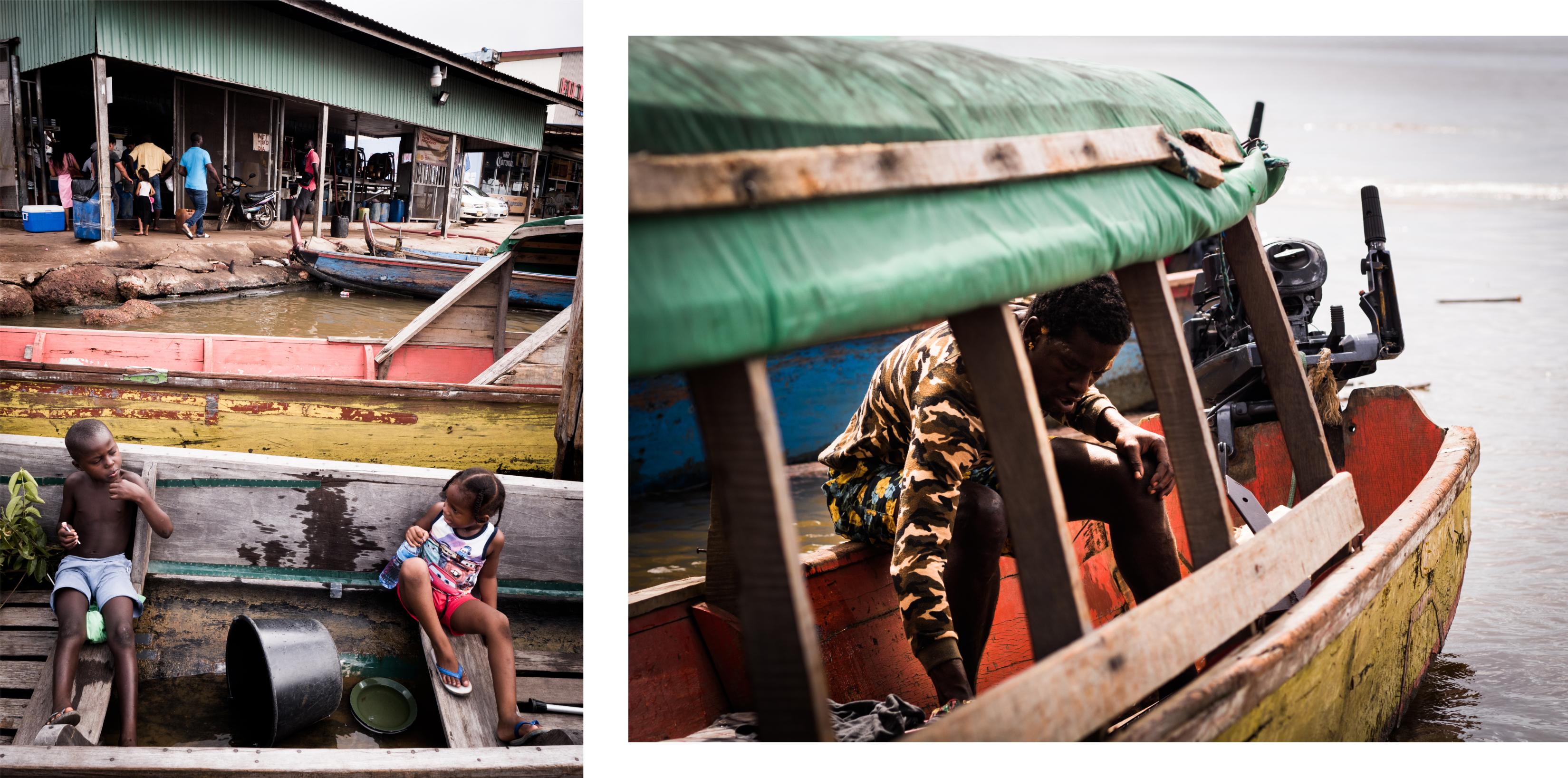 guyane Amazonie - rive du maroni - fleuve st laurent du maroni - albina au suriname