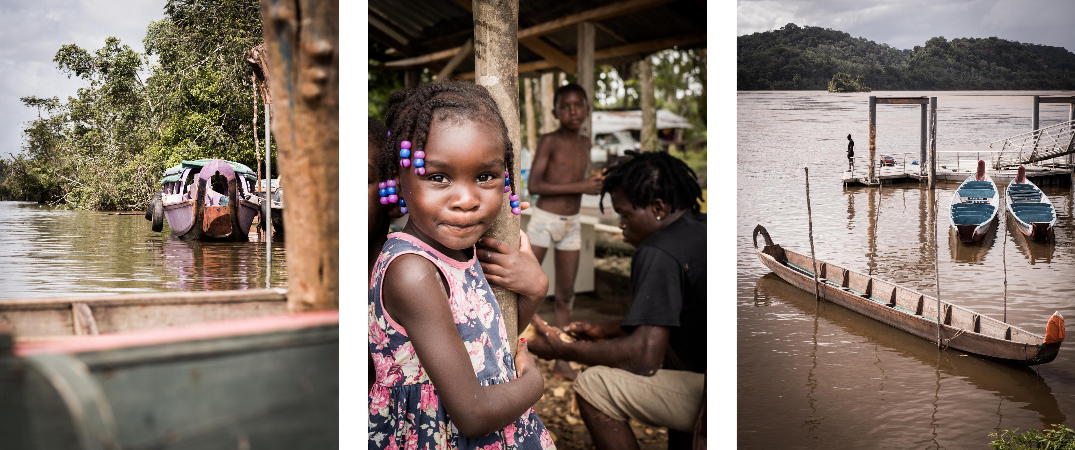 explorer la guyane - saint laurent du maroni -les bushinengués