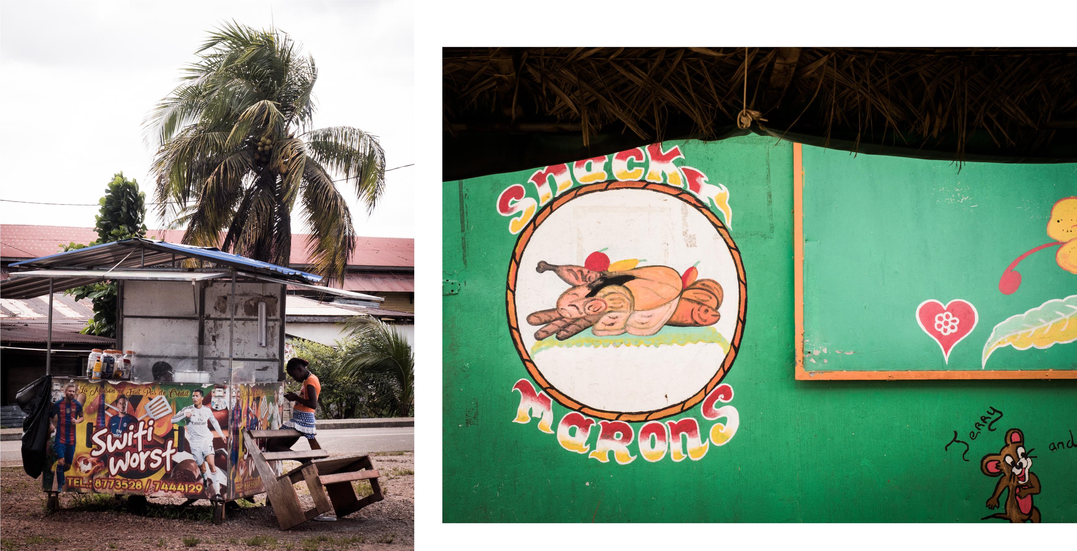 guyane Amazonie - rive du maroni - fleuve st laurent du maroni - apatou