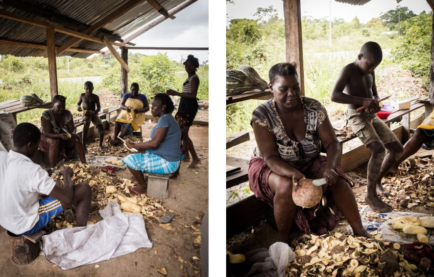 visiter la guyane - fleuve st laurent du maroni- bushinengués