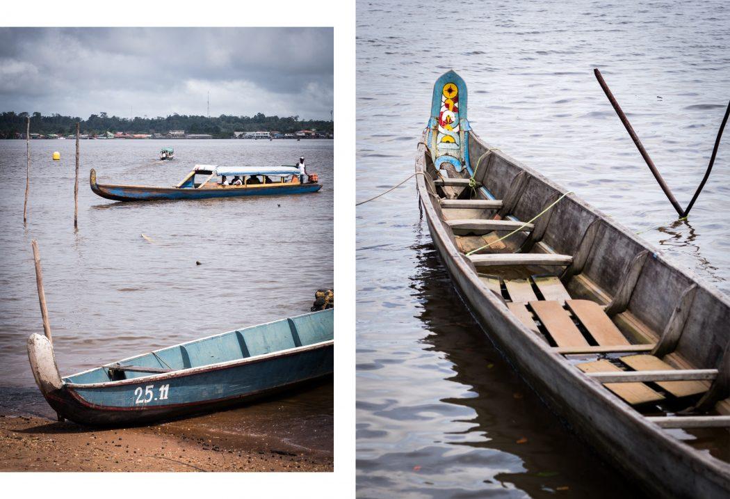 guyane Amazonie - rive du maroni, fleuve st laurent