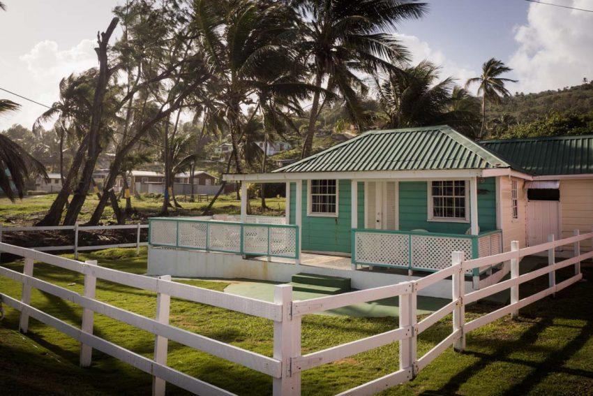 découvrir la barbade - antilles- architecture typique- chattel house - bathsheba