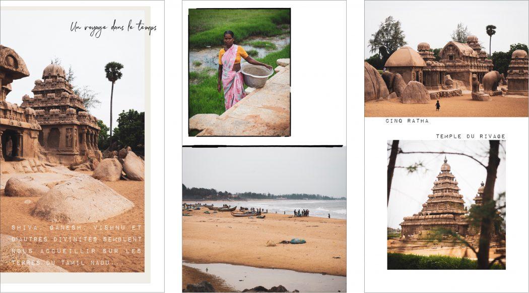 Mahabalipuram : photo de voyage en inde du sud dans le Kerala-Tamil Nadu