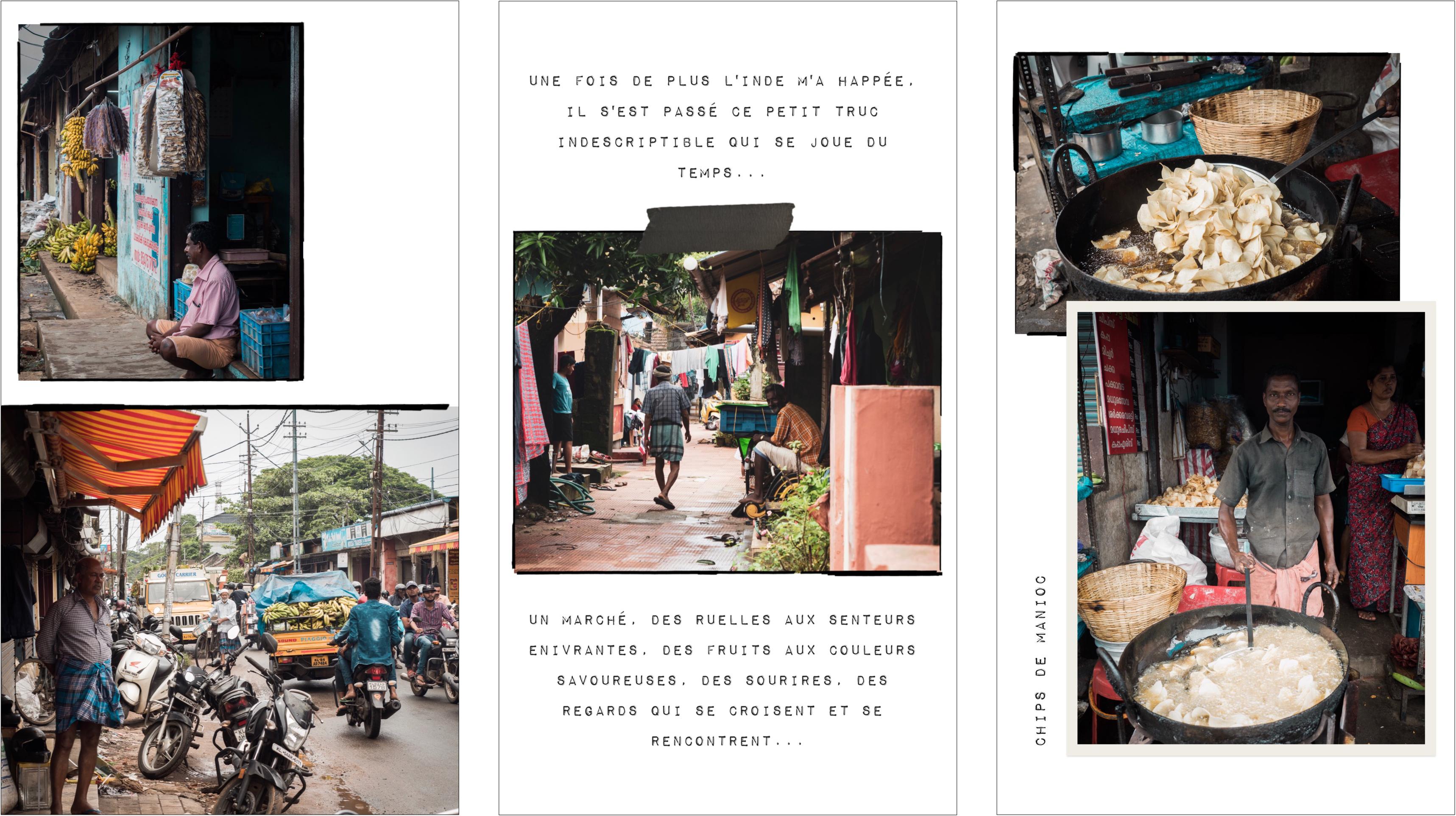voyager au Kerala - alappuzha - marché d'Alleppey