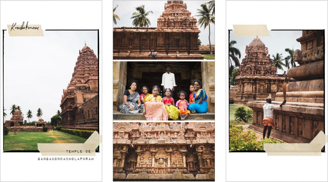 Carnet de voyage Kerala - Temple dynastie des Cholas à Darasuram- kumbakonam - - Tamil Nadu