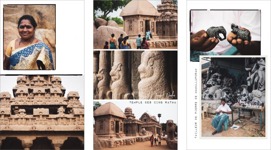 Voyage inde du sud - Mahabalipuram : photo de voyage dans le Kerala- Tamil Nadu