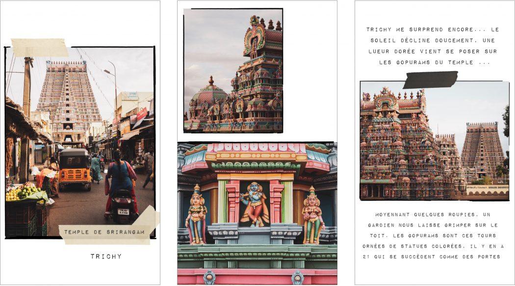Carnet de voyage photo en inde dans le tamil nadu - trichy