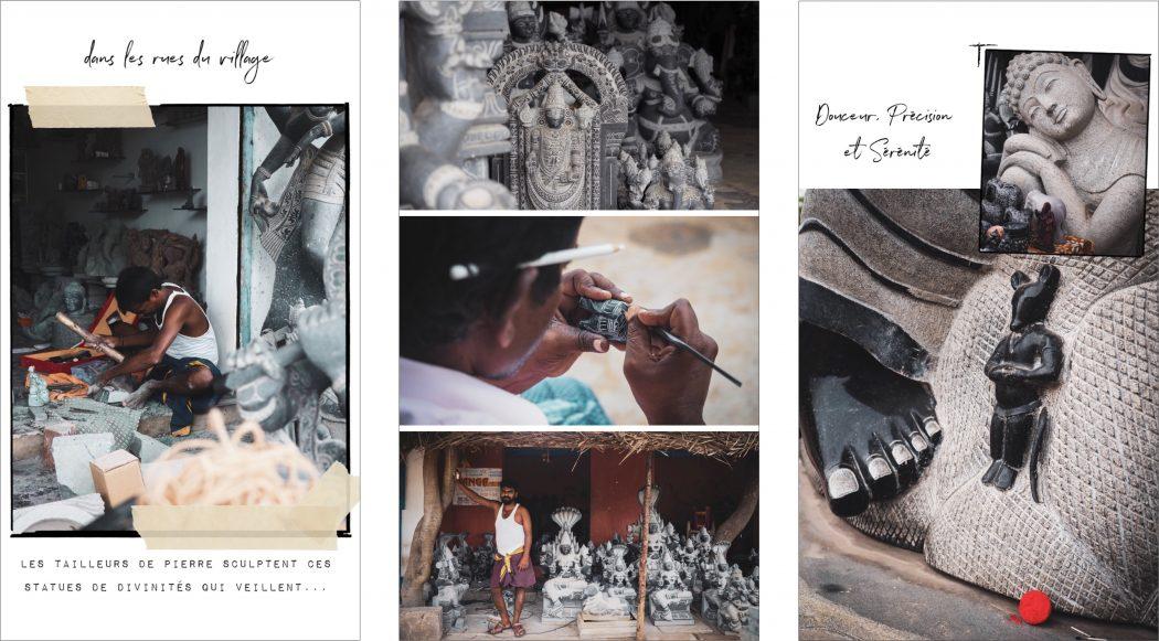 tamil nadu : Voyage inde du sud - Mahabalipuram : photo de voyage dans le Kerala - Tamil Nadu