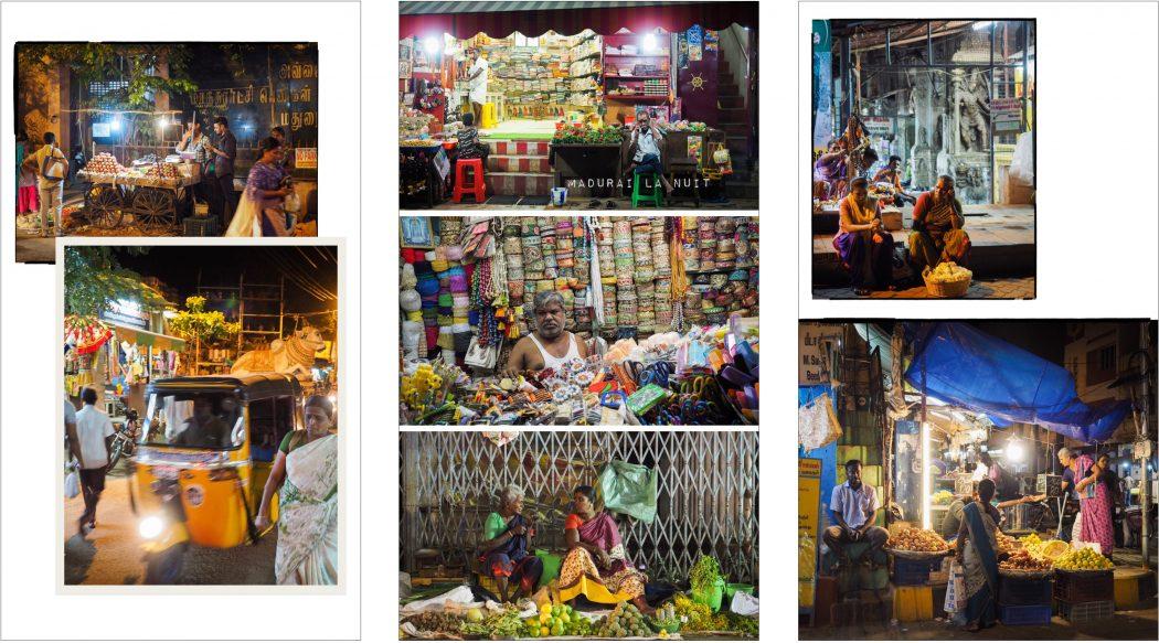 Carnet de voyage photo en inde dans le tamil nadu - madurai