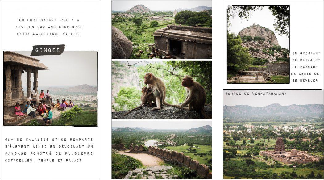 Gingee Inde : photos de voyage en Inde du sud dans le Tamil Nadu, Kerala- Tamil Nadu