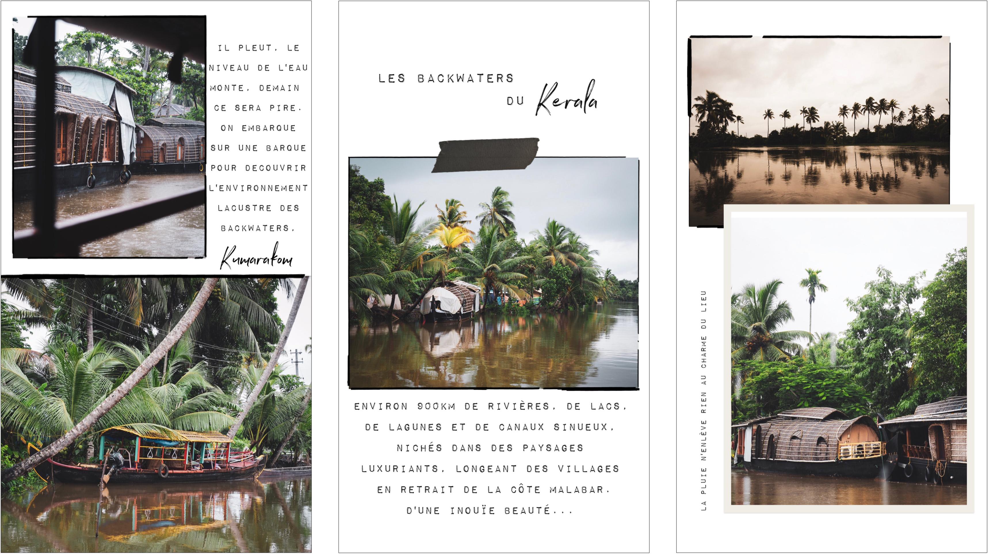 voyager au kerala - photos d'Inde - mousson au Kerala - découvrir les backwaters en Inde