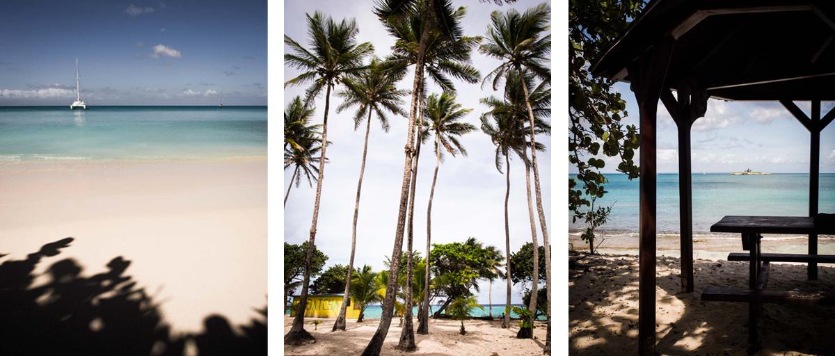 plages paradisiaques de Marie Gante - plages de sable blanc en Guadeloupe