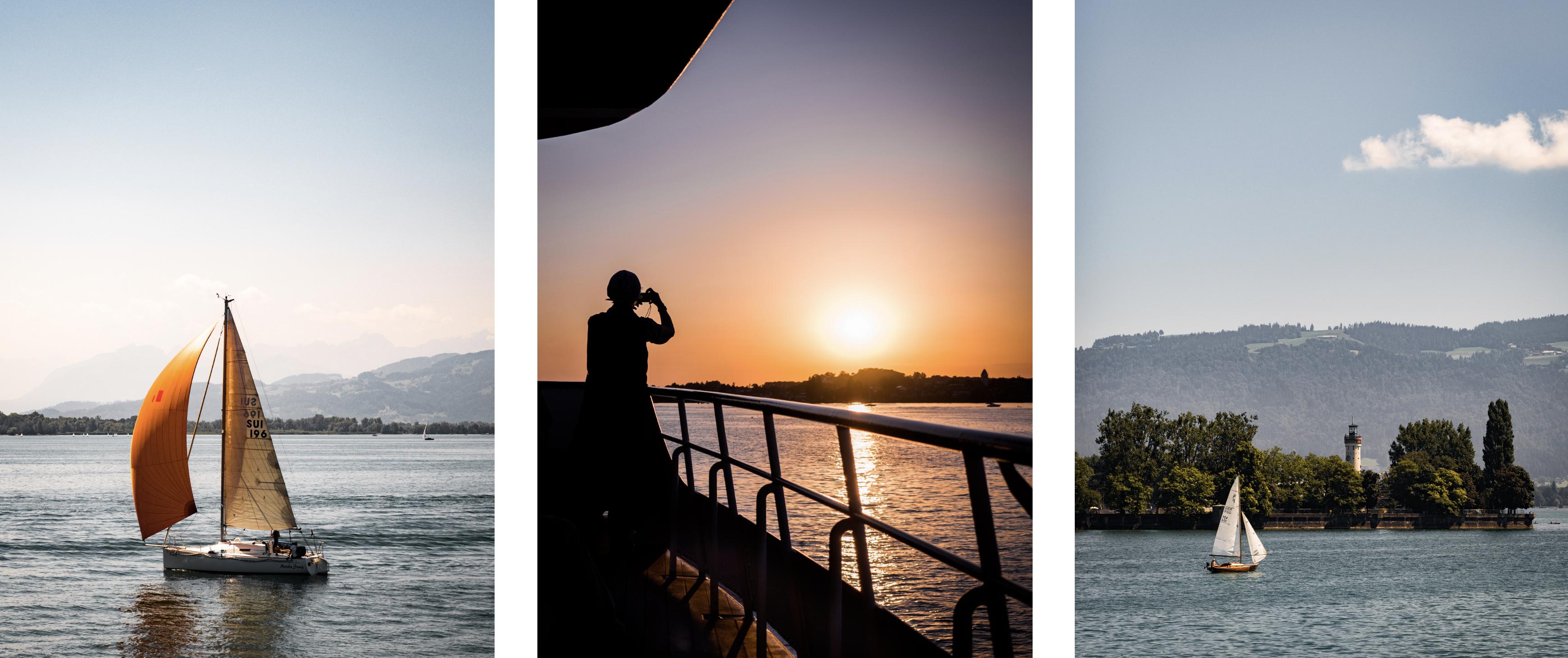 se déplacer sur le lac de Constance - que voir sur le lac de Constance - visiter le lac de Constance en bateau