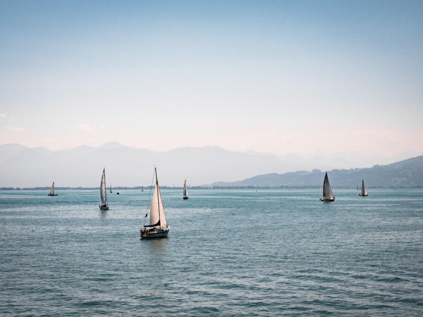 faire de la voile sur le Bodensee