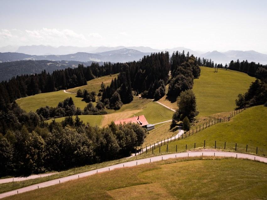 visiter le lac de Constance - que voir au Pfänder