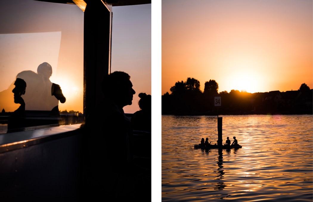promenade au coucher de soleil sur le Bodensee - visiter le lac de Constance autrement