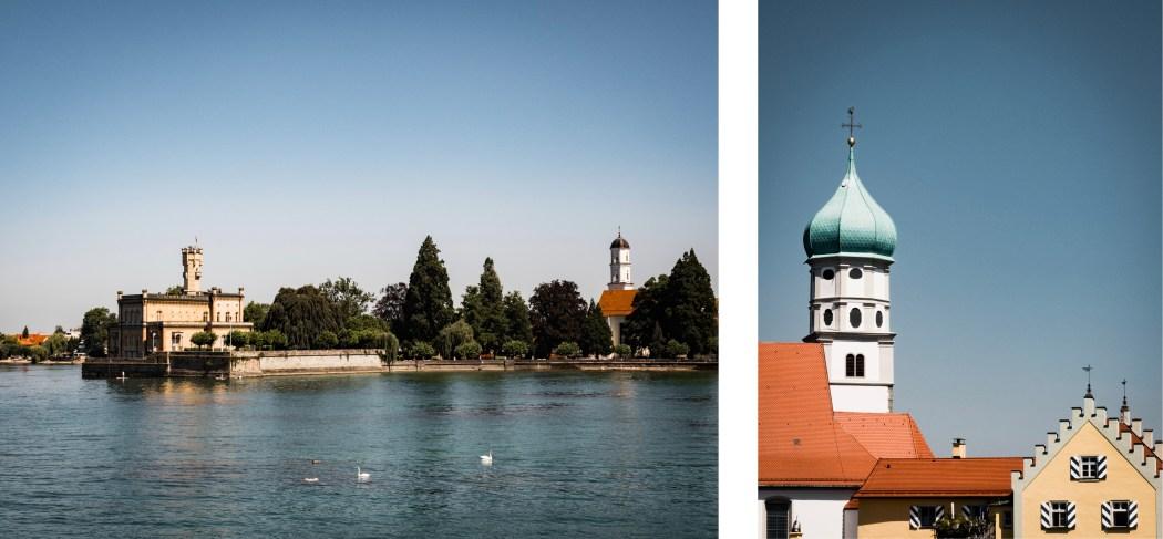que voir sur les rives du Bodensee