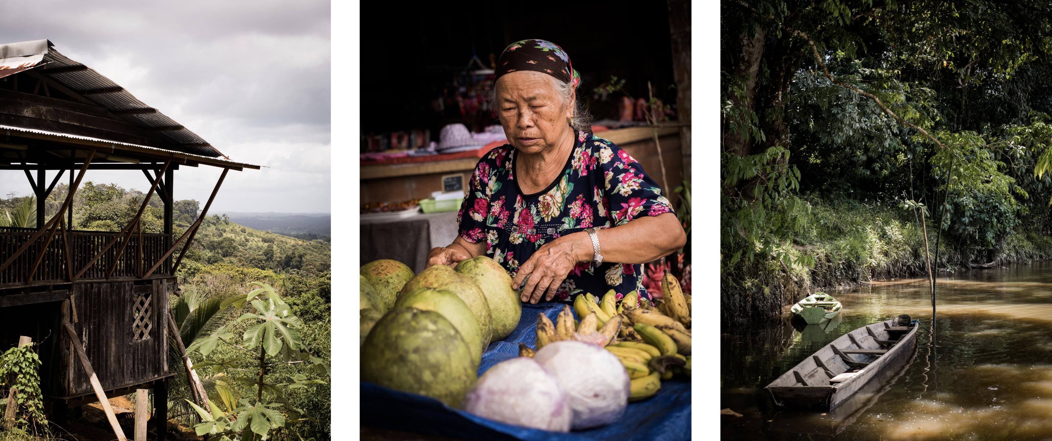 que voir en Guyane - village Hmong en Guyane - que faire à cacao - marché Hmong à cacao