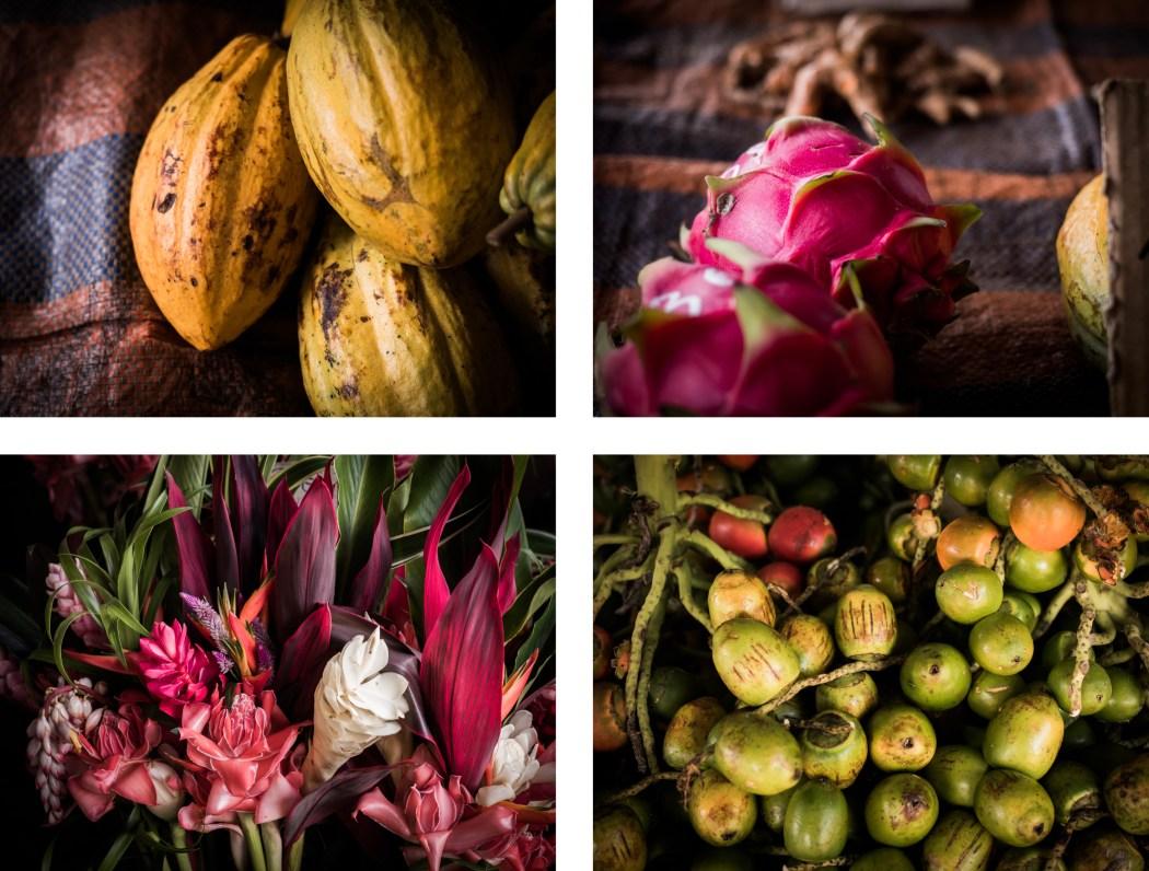 marché Hmong de cacao en Guyane