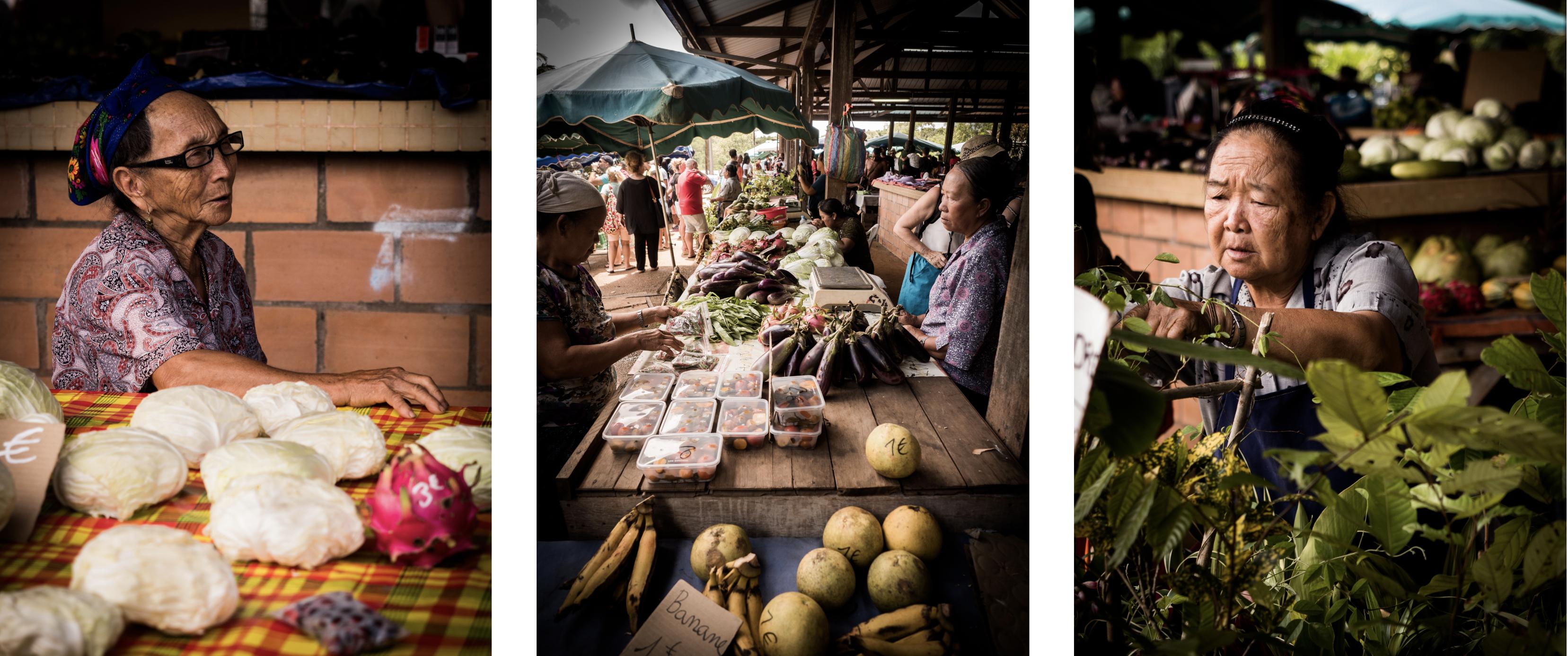 découvrir la Guyane - communauté asiatique en Guyane - village Hmong en Guyane - dimanche à cacao - marché Hmong